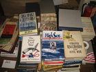 Hundreds of old books