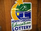 NC LOTTERY SIGN