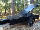 Covered Tool trailer- Spring top