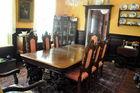 Super carved oak dining suit