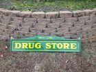 1932 COKE DRUG STORE SIGN