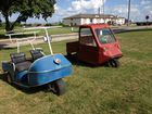 Old style golf carts