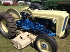 1963 ford 2000 with woods belly mower