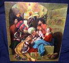 Original Oil/Canvas Nativity Painting, I