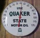 Quaker State Advertising Thermometer