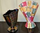 Fenton & Italian vase