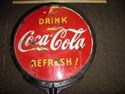 Coke pedstal sign