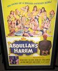 1955 Movie poster, Adbullah's Harem