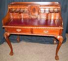 Mahog banded desk