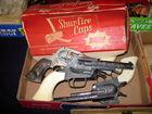 Vintage cap pistols