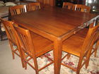 Hightop table w/ 8 chairs