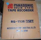 Panasonic tape recorder NIB