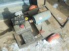 homemade generator on trailer