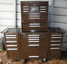 Kennedy toolbox with tools