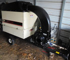 Agrifab leaf-grass collector/chipper