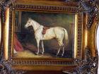 Equetrian Art- Oil on Canvas