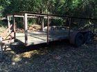 7 x 16 tandem utility trailer
