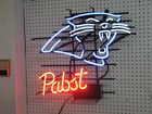 Carolina Panther Neon Beer Sign