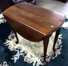 Mahog drop leaf table