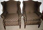Pair of Fleur de Lis Chairs