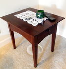 Mahog end table