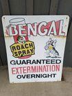 Bengal Roach Spray Sign