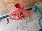 Antique Crank Wheel Coffee Grinder
