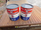 Dairy Cleaner Cans