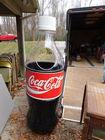 Large Figural Coke Bottle Cooler