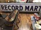 Vintage 10 Foot Record Mart Sign