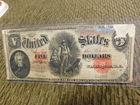 1907 U.S. Woodchopper 5 Dollar Note