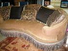 Curved Italian sofa
