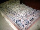 Large wool area rug