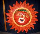 Large iron sun