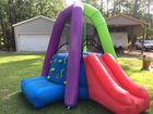 Blowup outdoor slide
