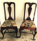 2 of 8 Queen Anne style chairs