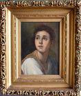 Portrait on Linen