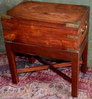 Antique box on stand