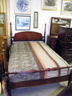Mahog double bed