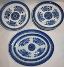 Fitzhugh style plates and bowls