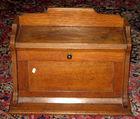 Small oak writing desk