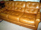 Leathert sofa