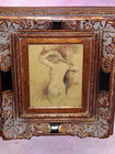 Nude painting, exquisitely franes