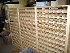 Wine rack holds 644 bottles