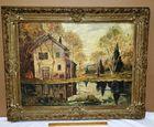 Original Impressionist Painting on Board