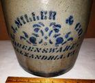 Stoneware Crock H.J. MILLER & CO.