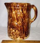 Early Bennington Pottery Pitcher