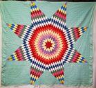 Hand Stitched Starburst Pattern