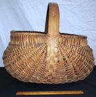 Large Antique Splint Basket