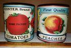 Original Labels on Cans